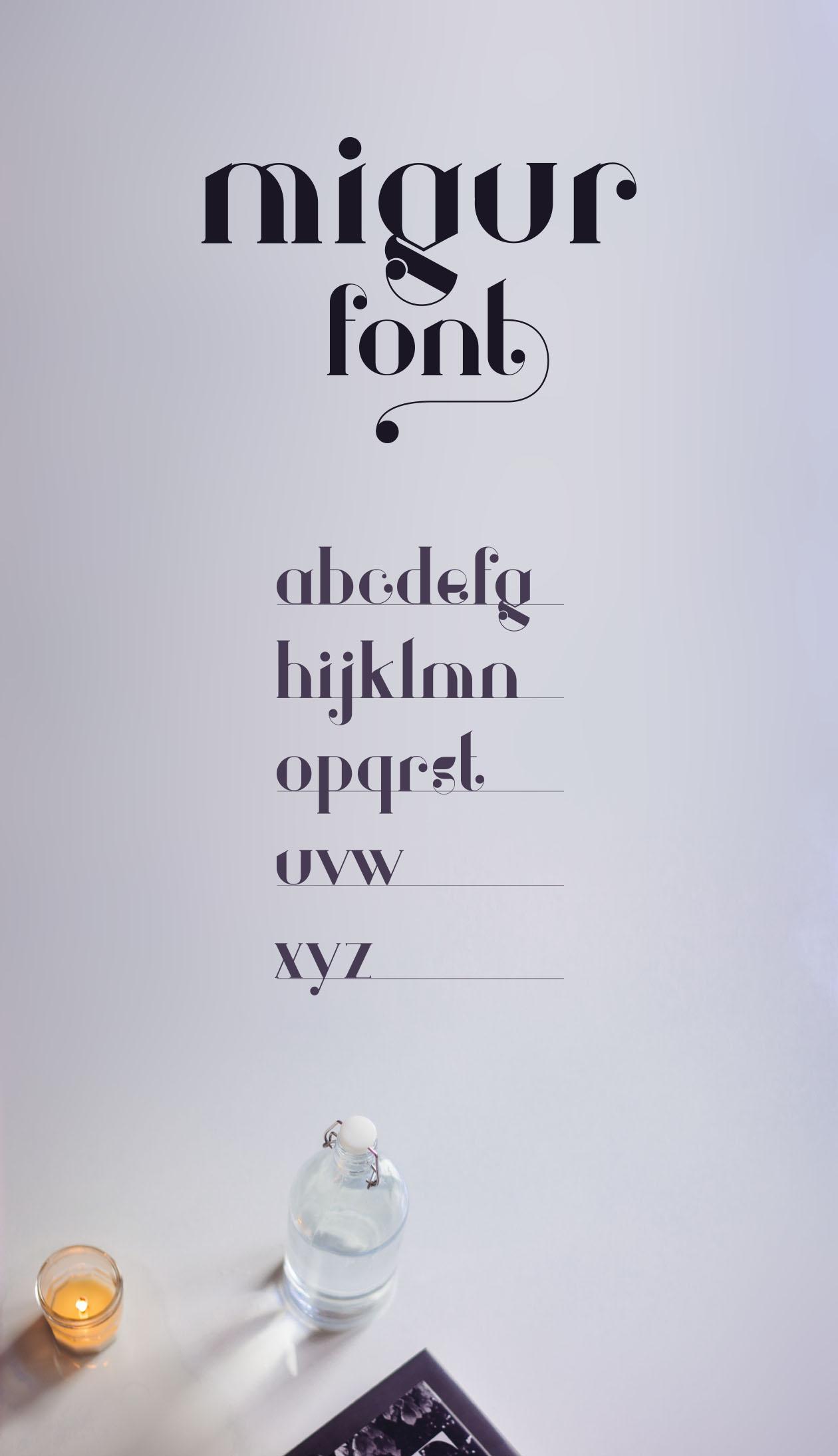 Migur Serif Font