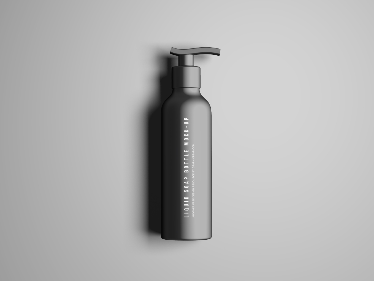 Soap Bottle Mockup Psd