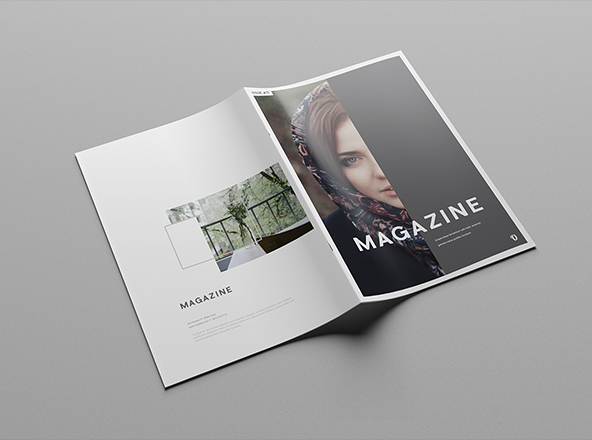 Magazine Design Layout Templates Free