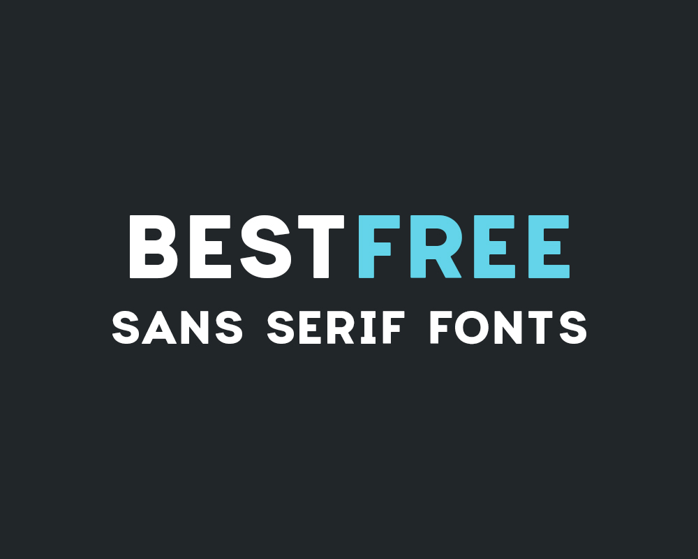 why you should use sans serif fonts for figures posters and slides