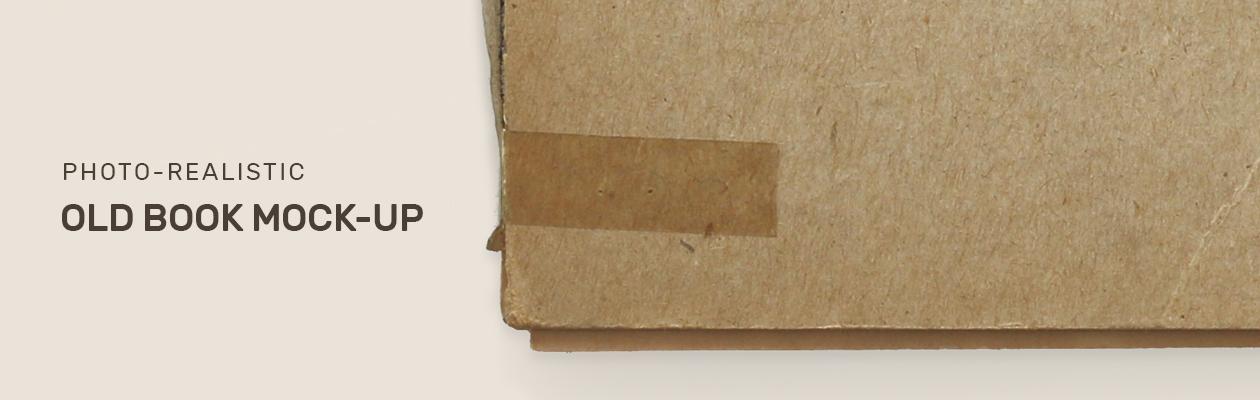 Vintage Old Book Mockup