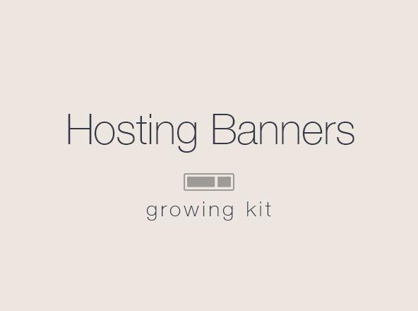 Hosting Banner Templates