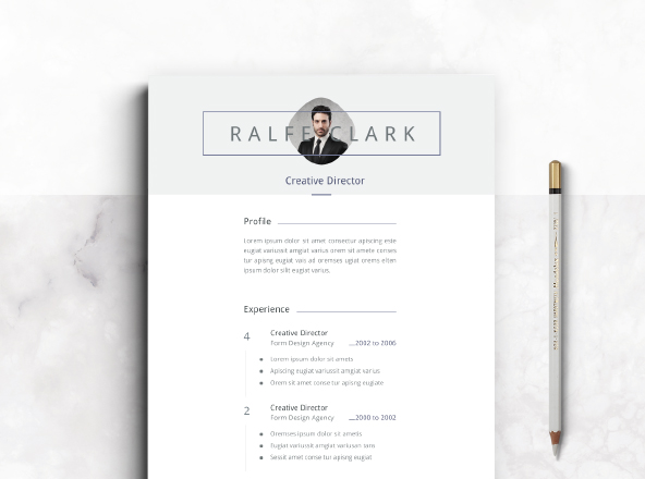 White Resume Template