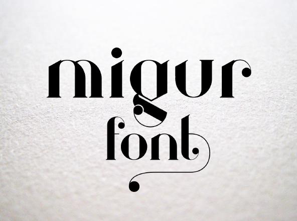 MIgur Font - Free