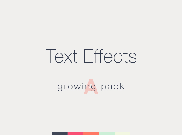 Text Effects Pack