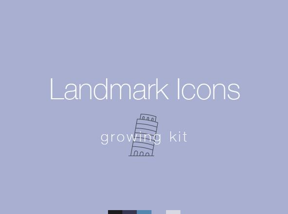 Landmark Icons Pack
