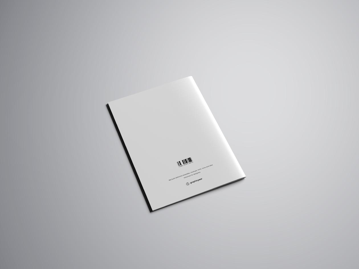 A4 Brochure Mockup - Back