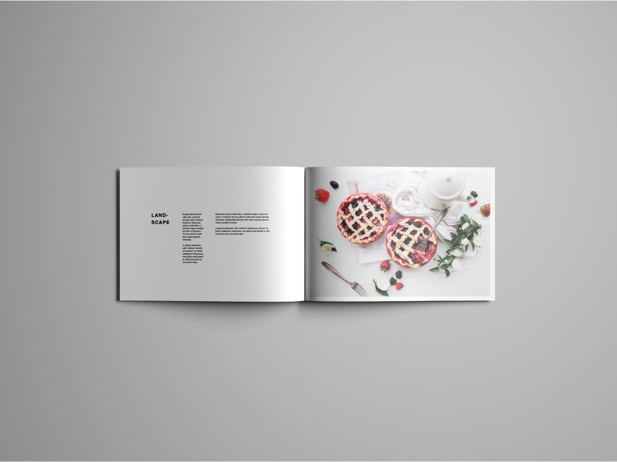 Landcape Brochure Mockup