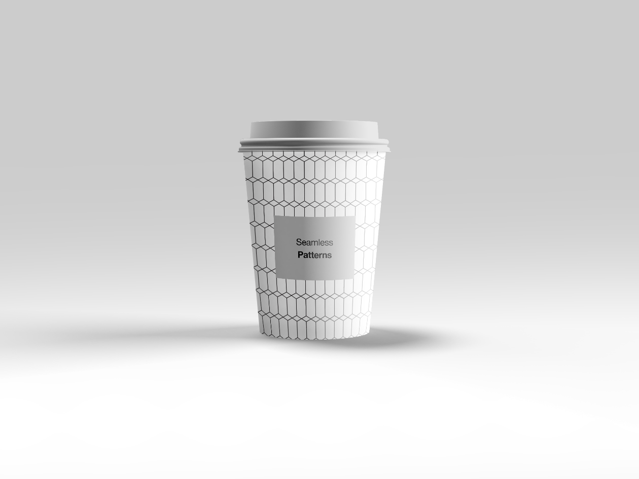 Seamless Patterns on Cup
