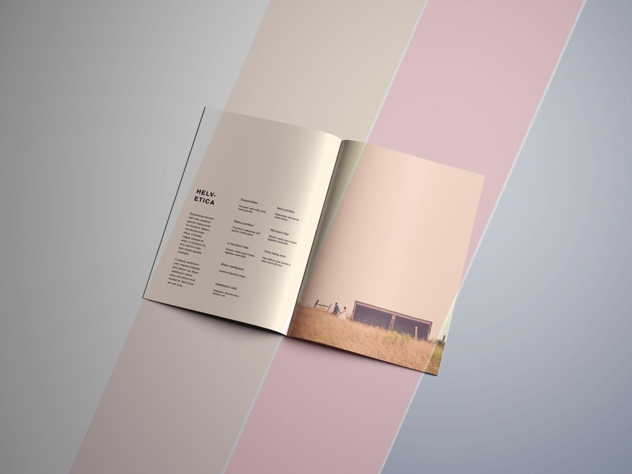 brochure mockup filters