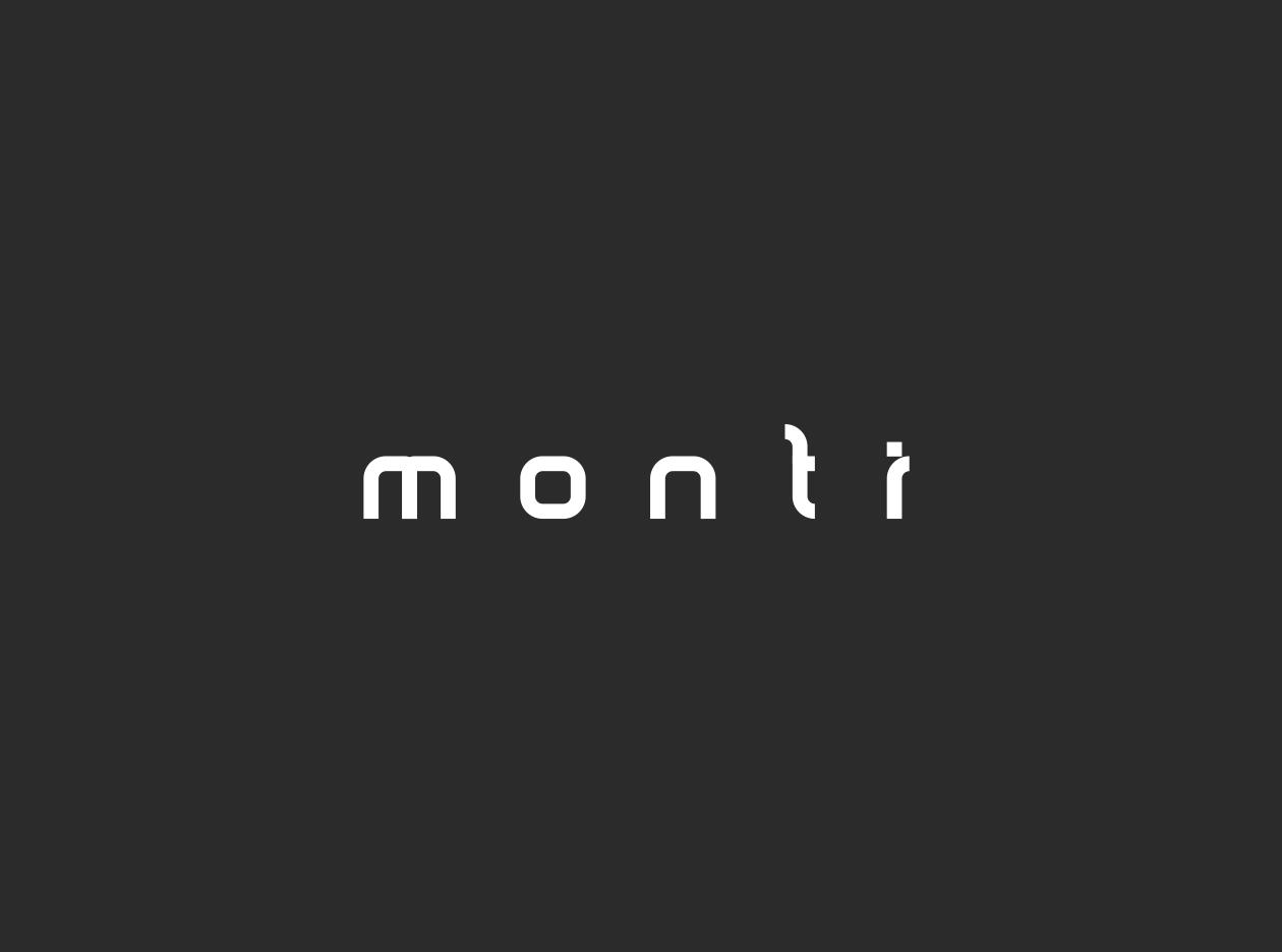 Monti Sans Serif Minimal Font