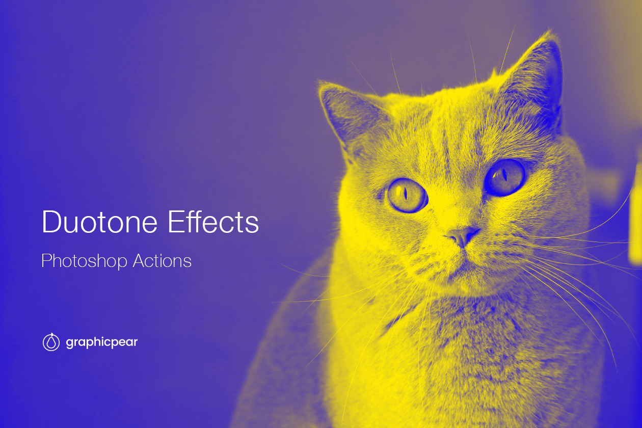 duotone photoshop effects  actions