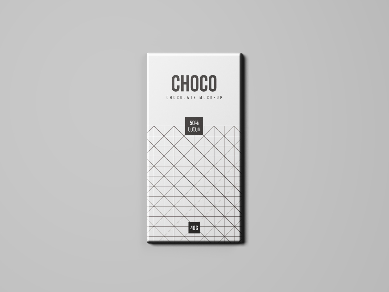 Chocolate Package Mockup