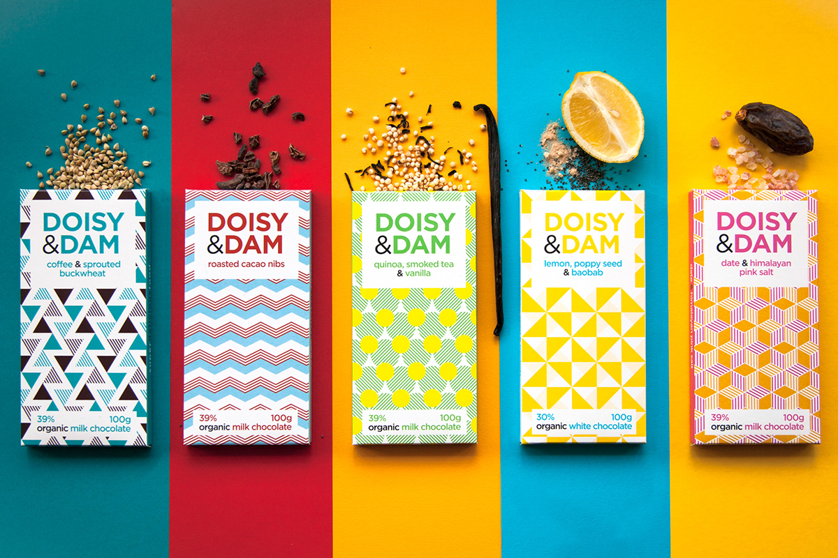 Selection of Best Chocolate Package Designs