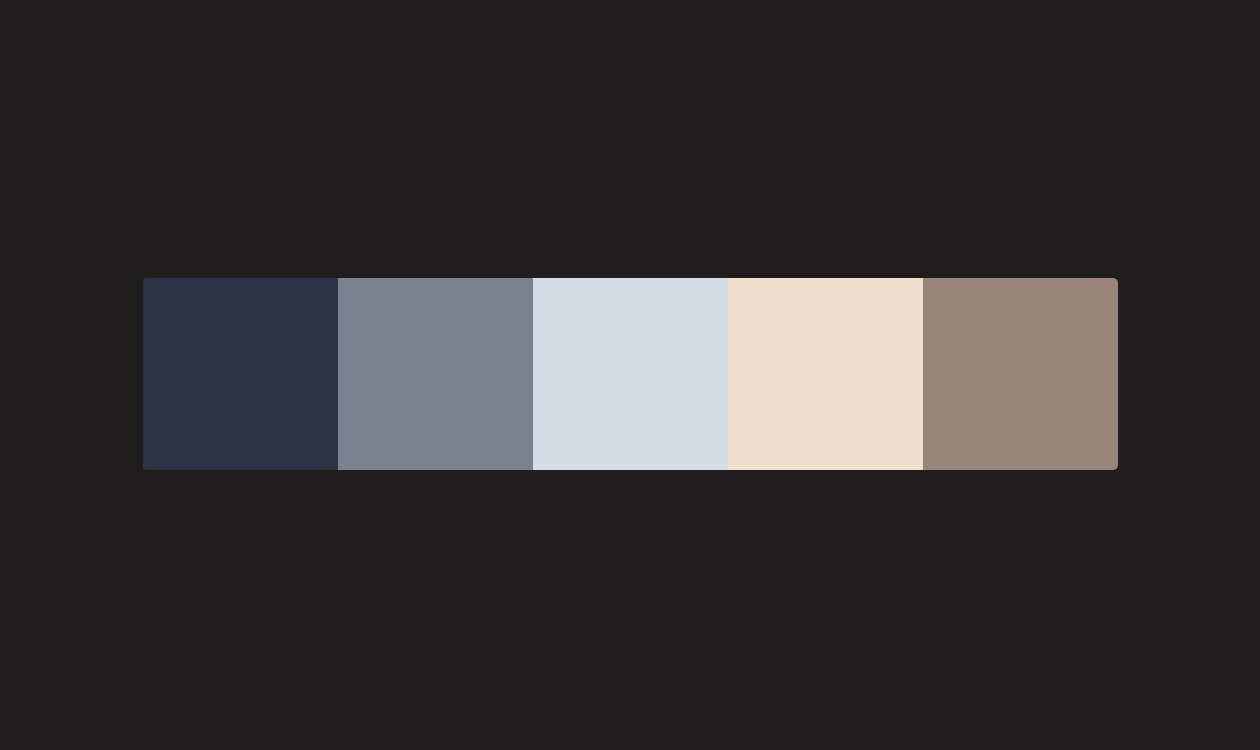 Soft Colors Swatch