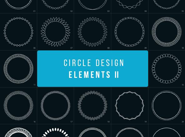 circle-shapes-design-elements 2