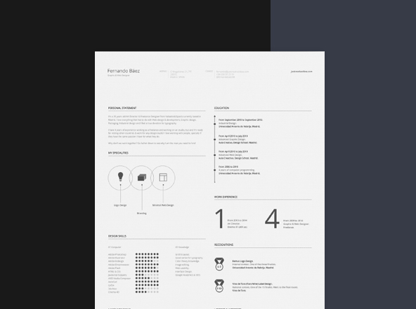 One Page Restaurant Menu Template