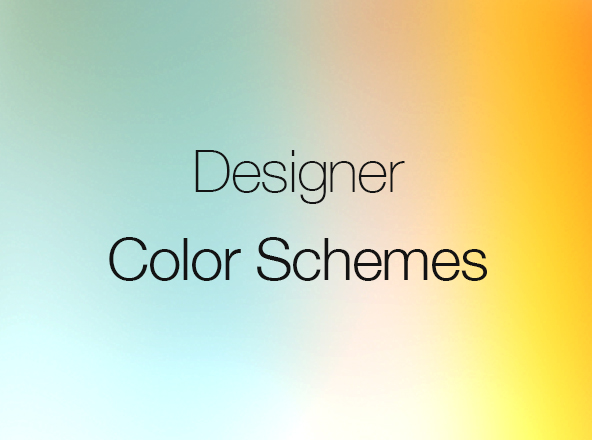 Color Schemes for Designers