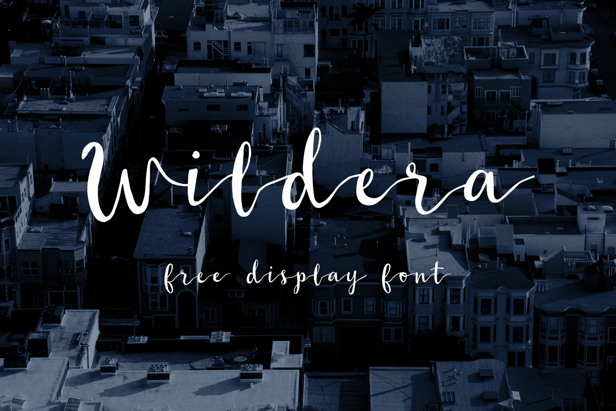 Wildera Font
