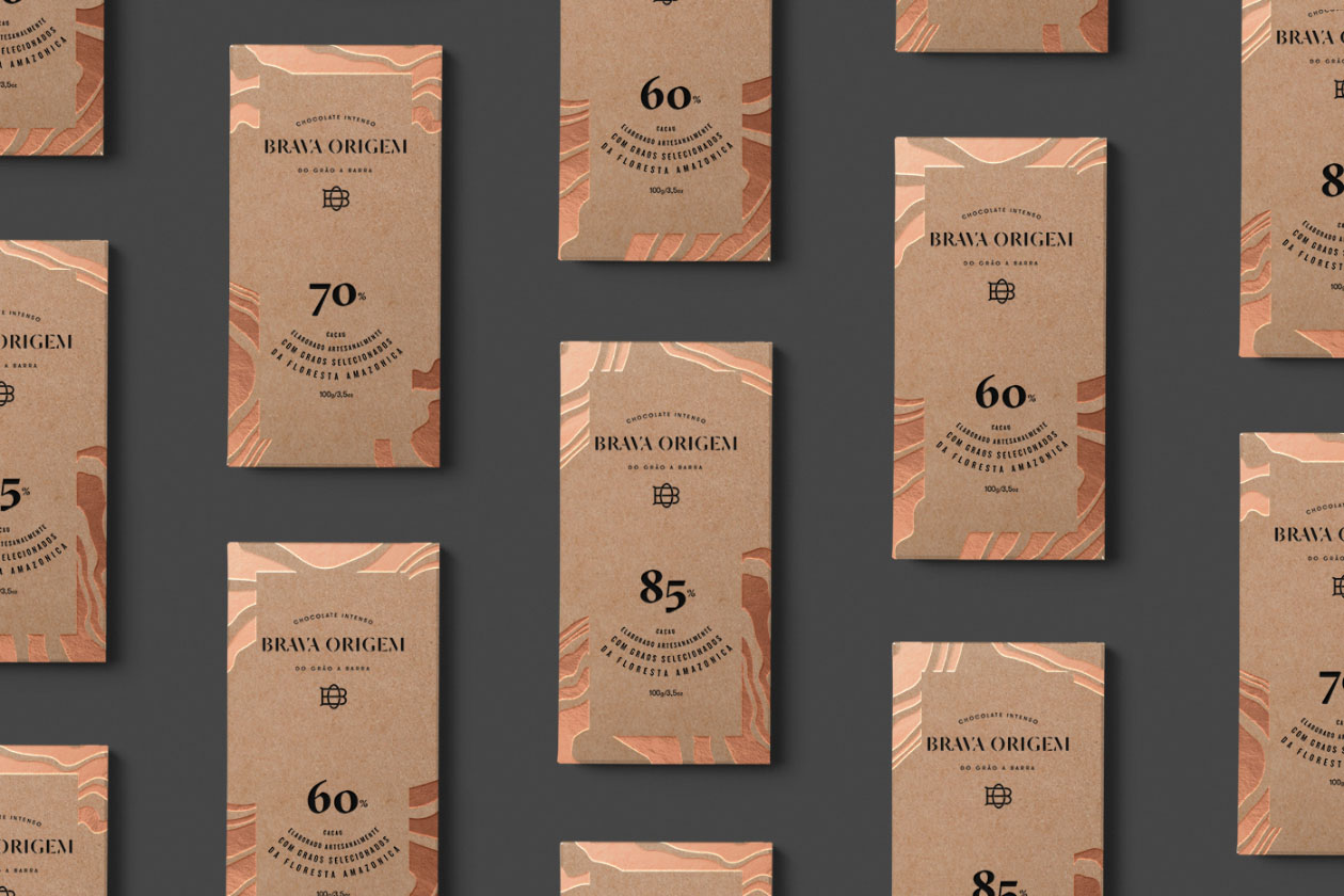 巧克力包装设计