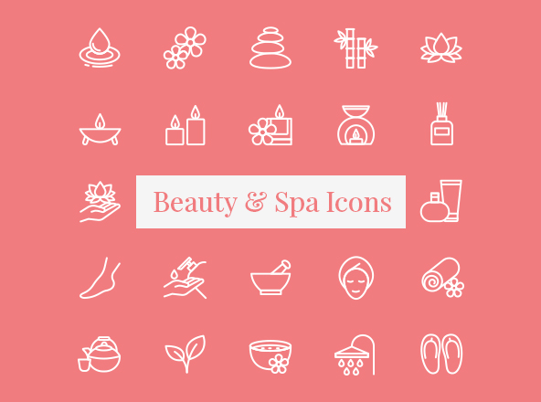 Beauty & Spa Icons