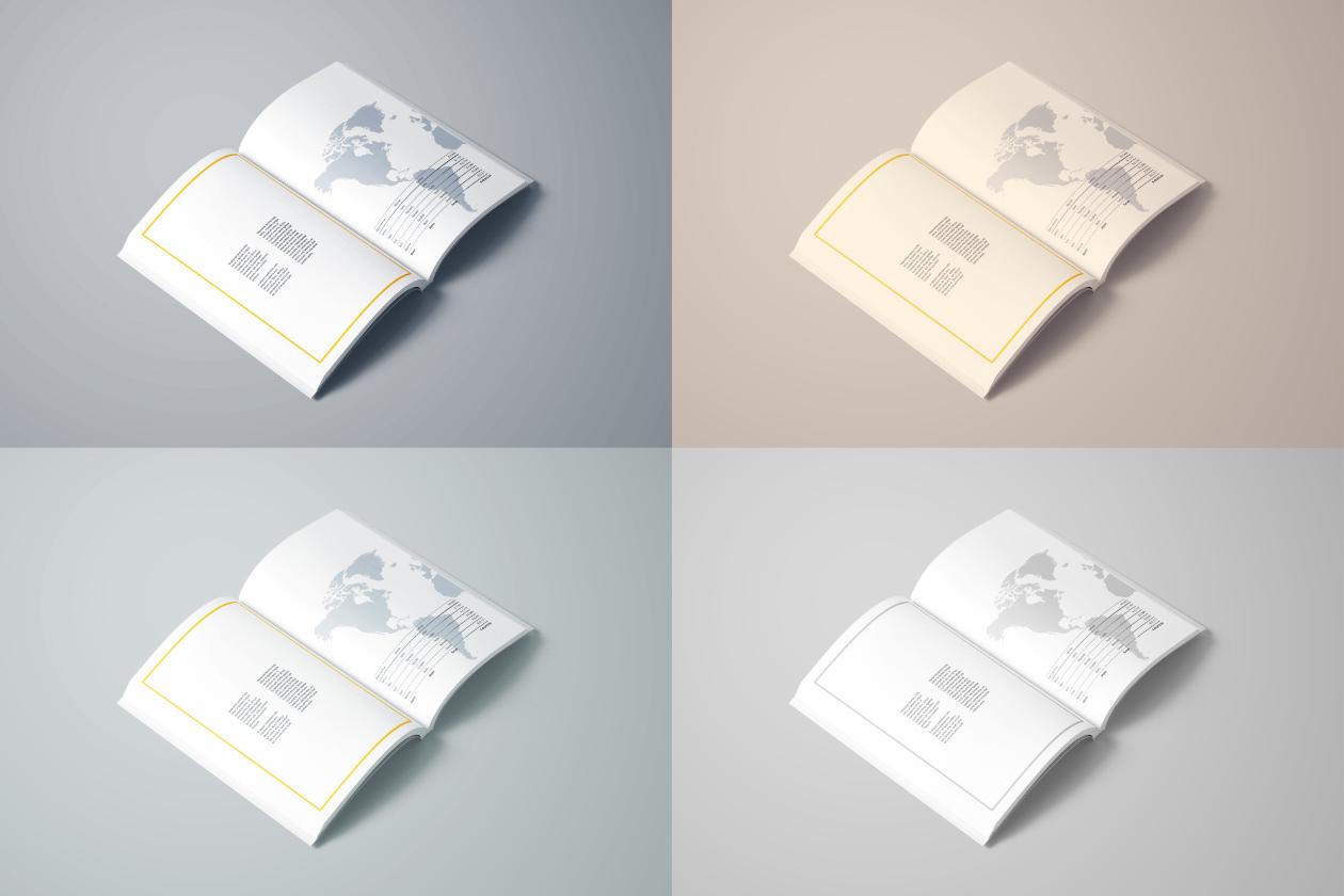 book mockup filters