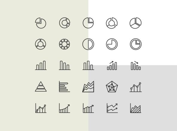 Chart Icons Free