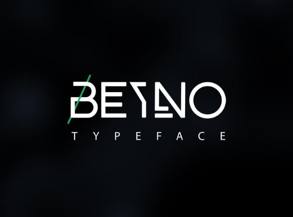 Byeno Free font