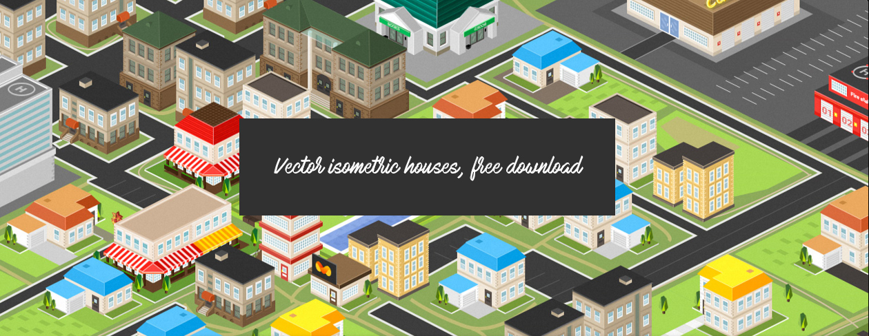Free Isometric Houses