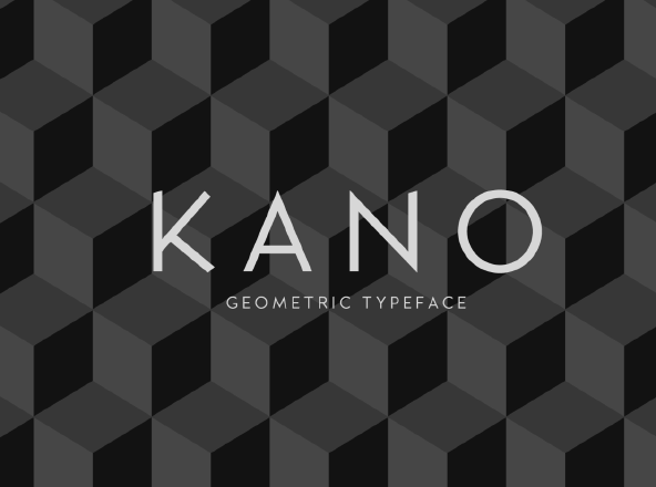 Kano free font