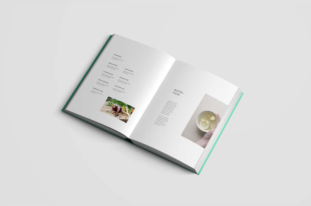 hardcover book mockup photoshop