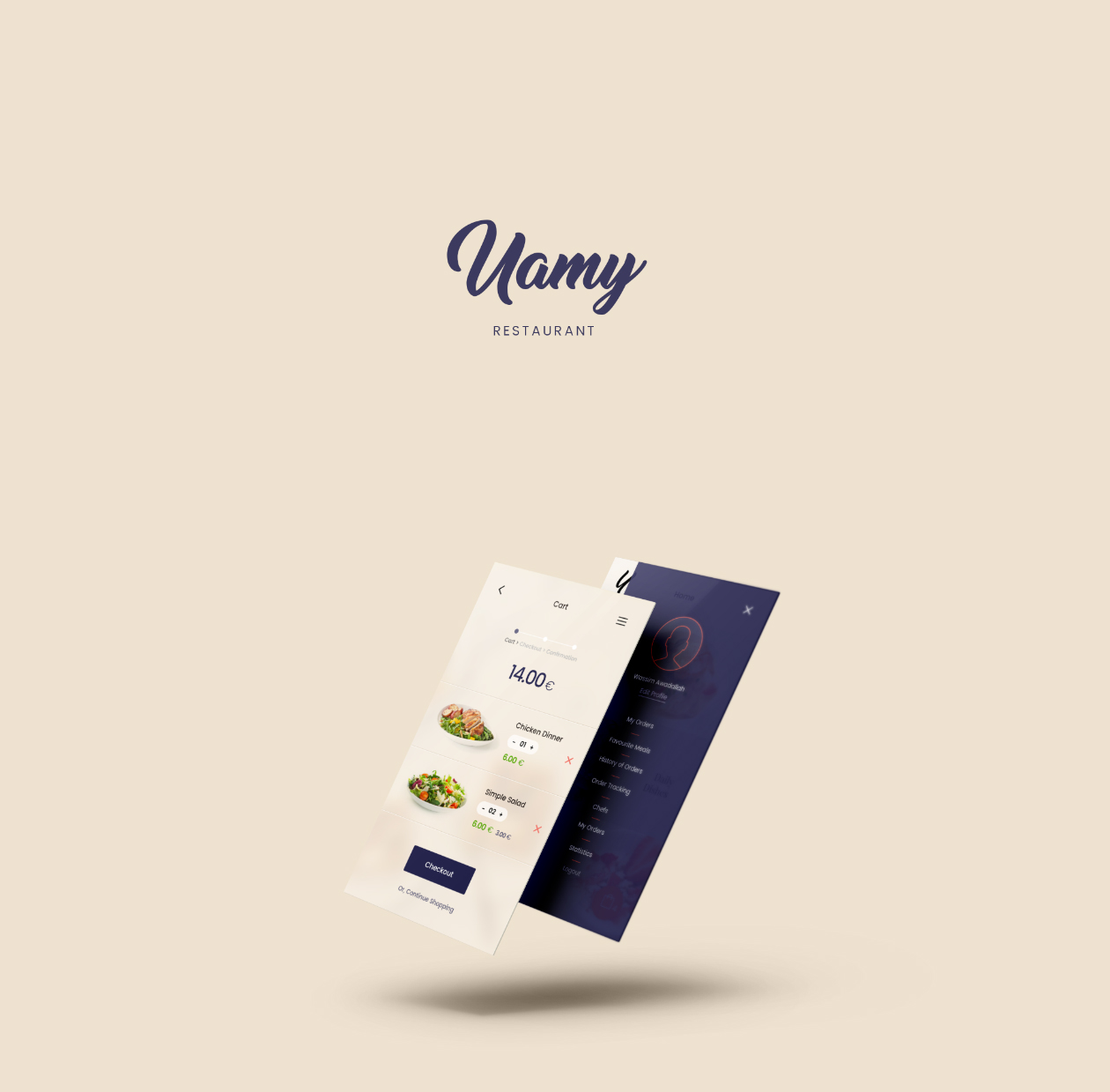 Yamy Restaurant Ui Kit