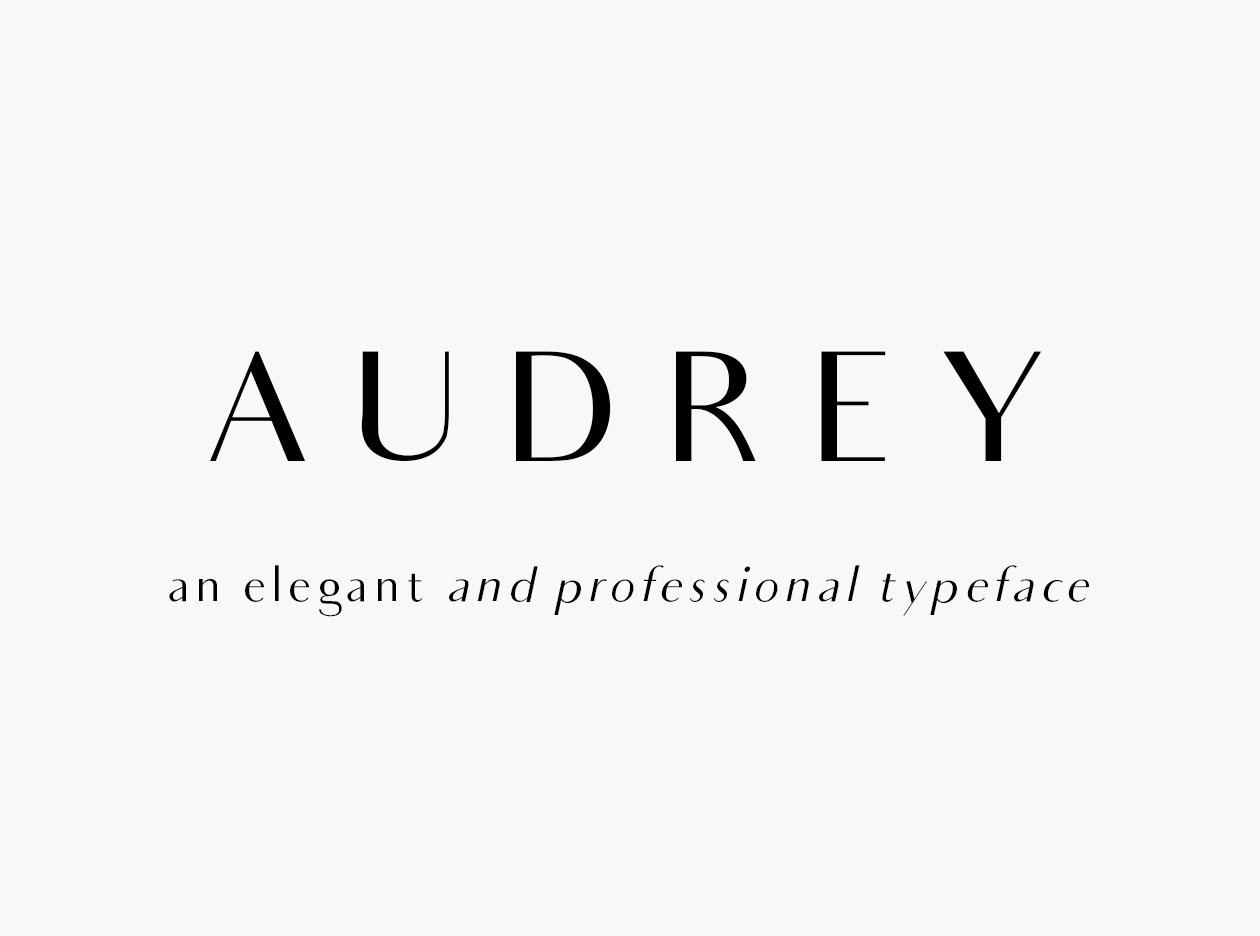 Audery Font
