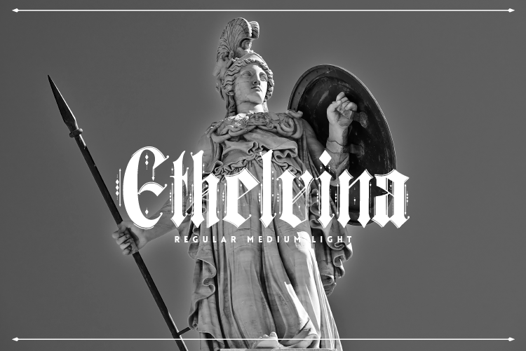 Ethelvina Free Font