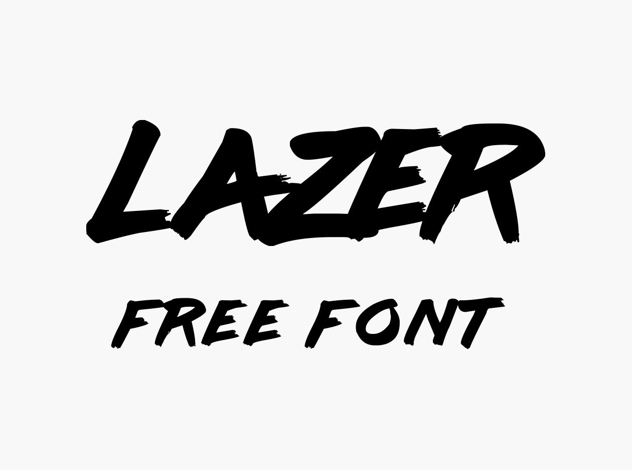Lazer Free Font