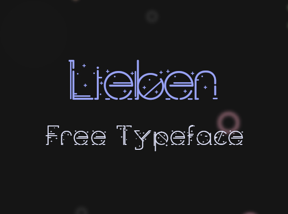 Lieben Free Font
