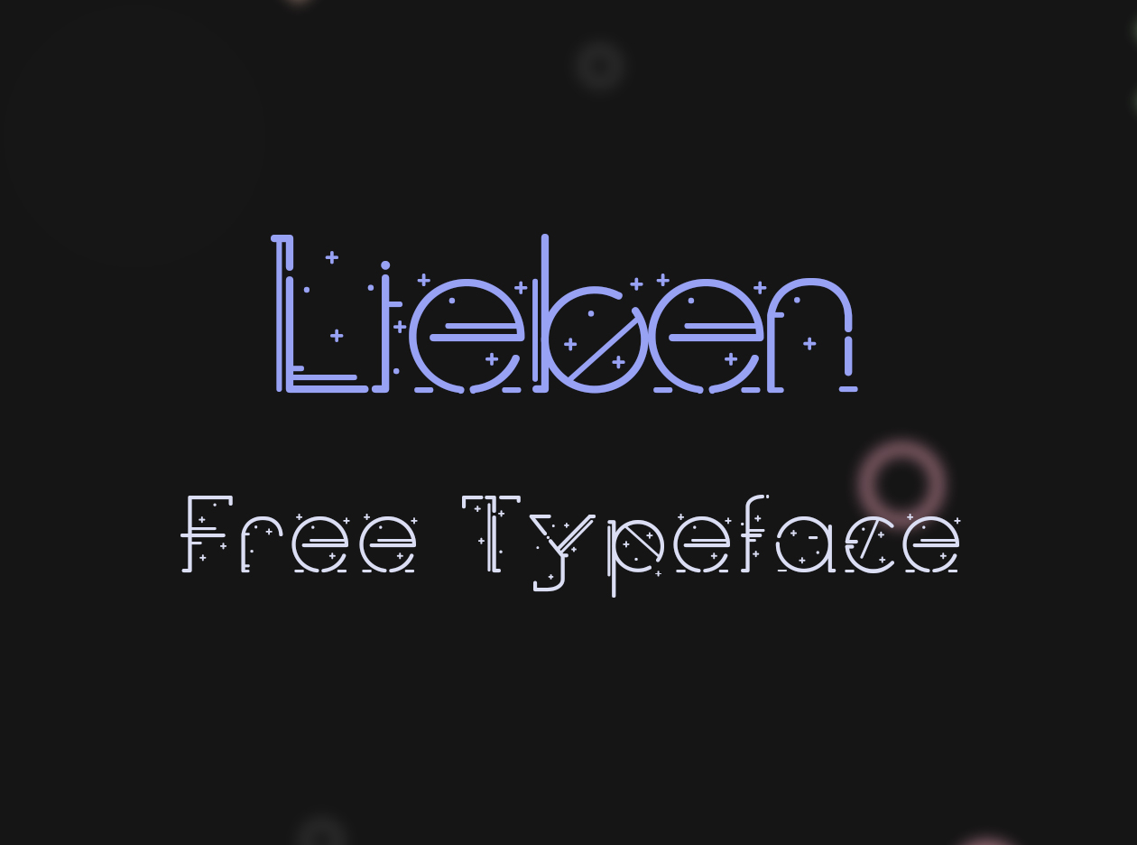 Lieben Free Font Download