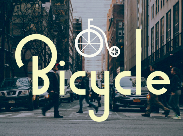Bicycle Free Font