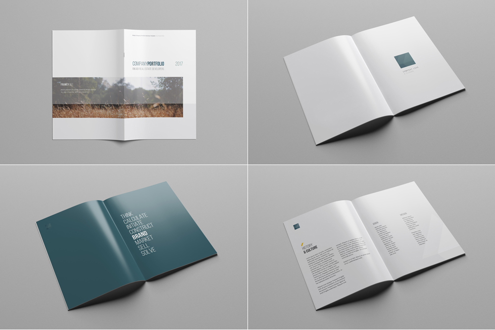 Company profile print template company profile template profile template flashek Gallery