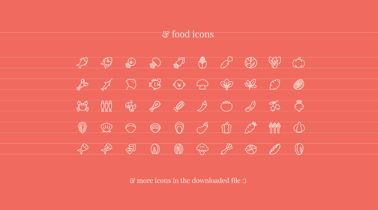 Restaurant Ui Kit Icons