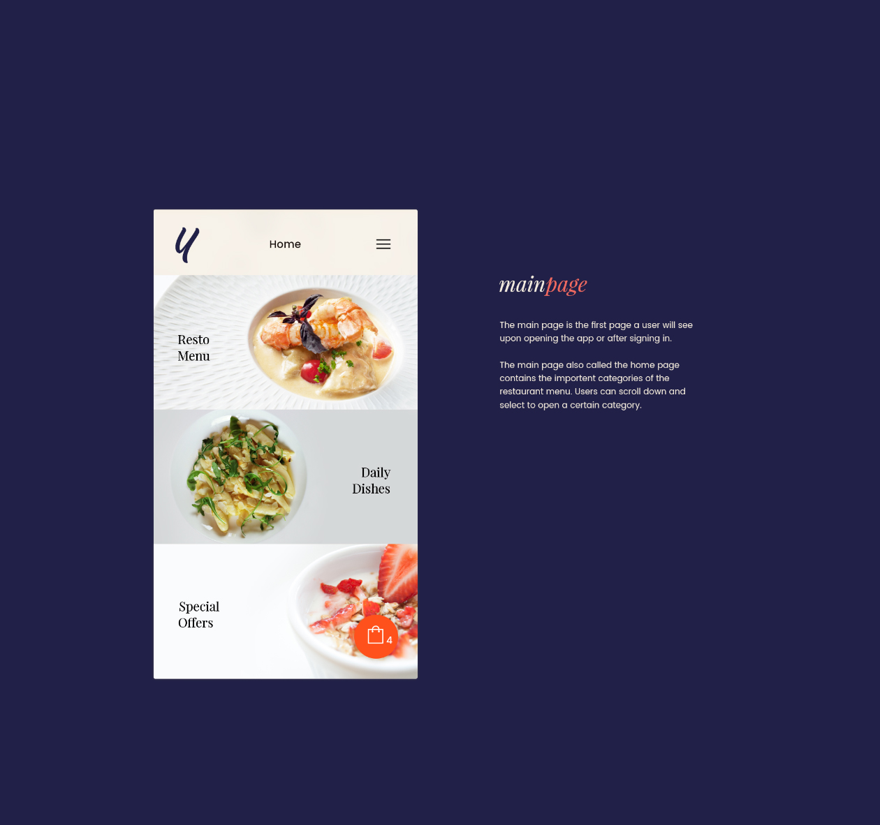 Restaurant Ui Kit