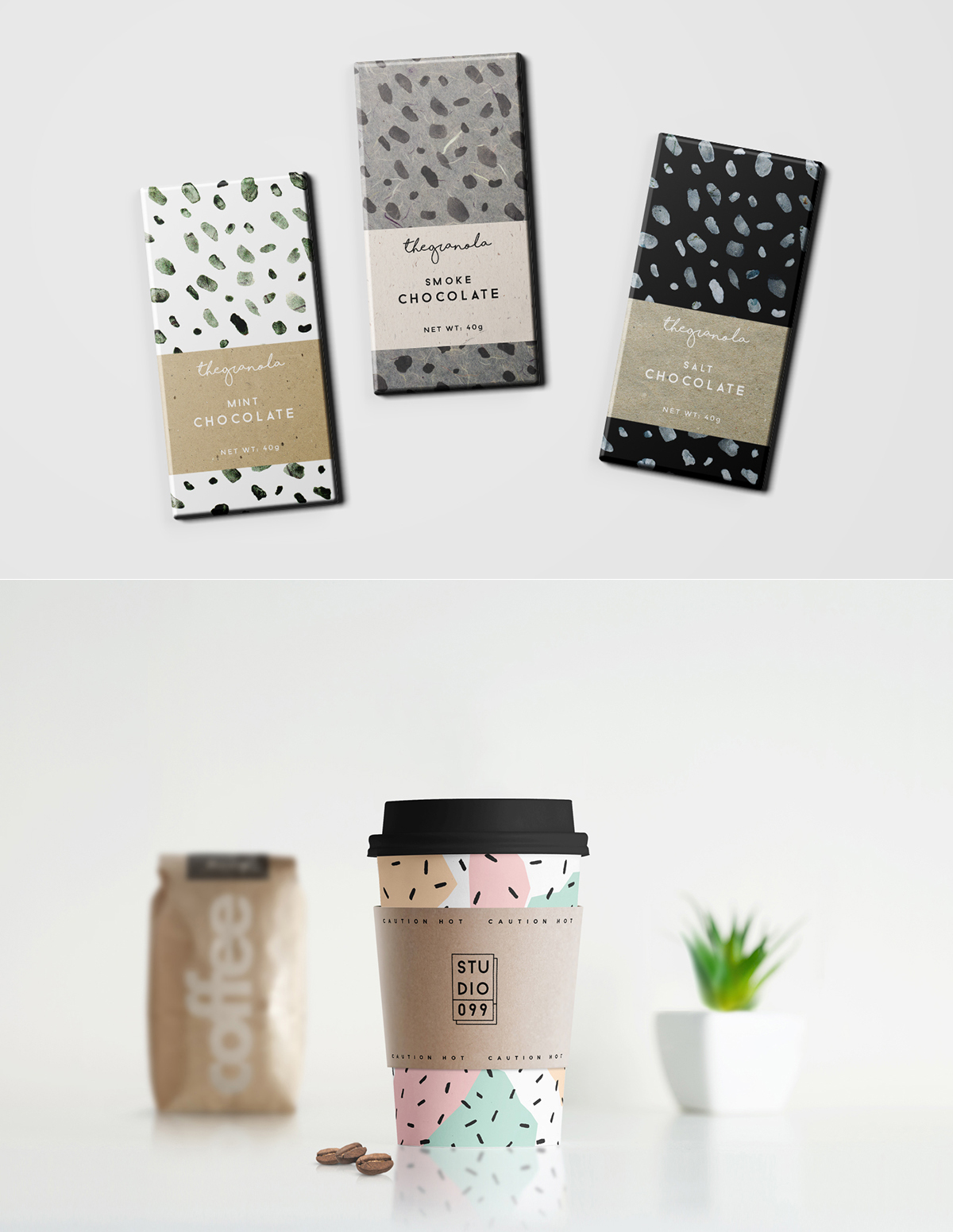 Hand Drawn Patterns in Packaging