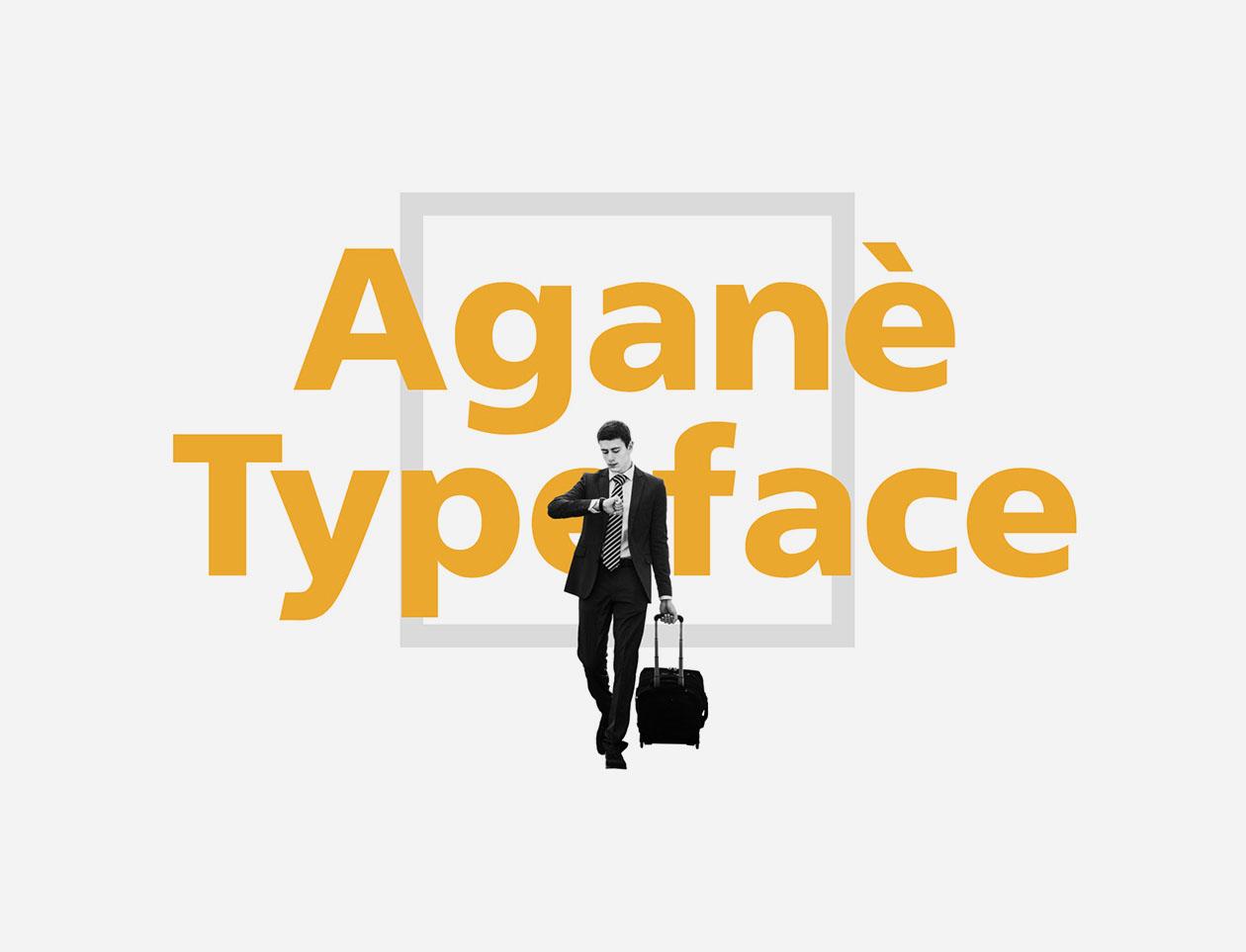 Aganè Free Font