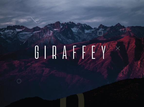 Giraffey Font