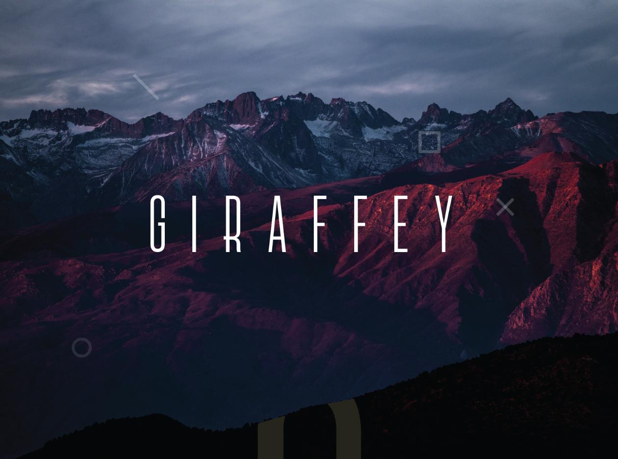 Giraffey Free font