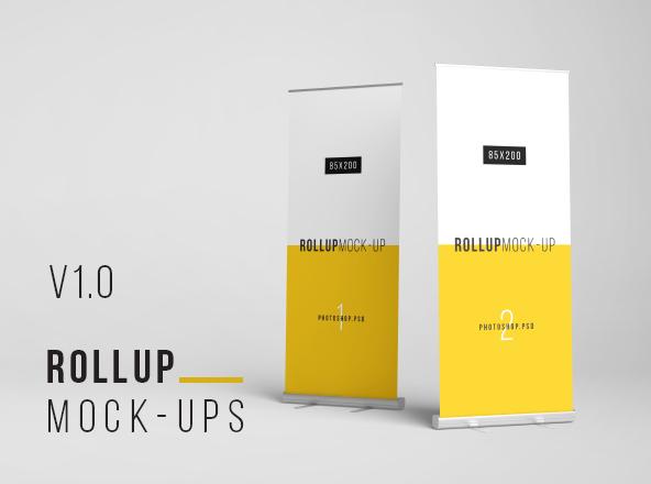 Rollup Mockup 80x200cm