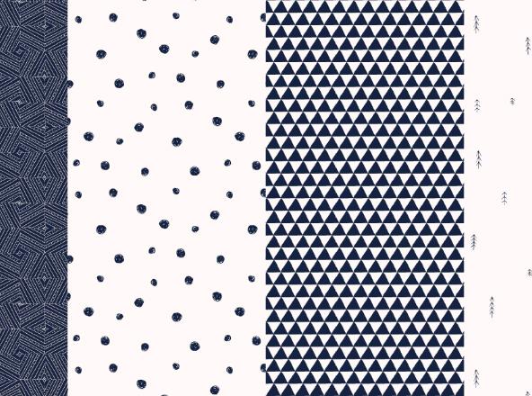 Minimal Random Patterns