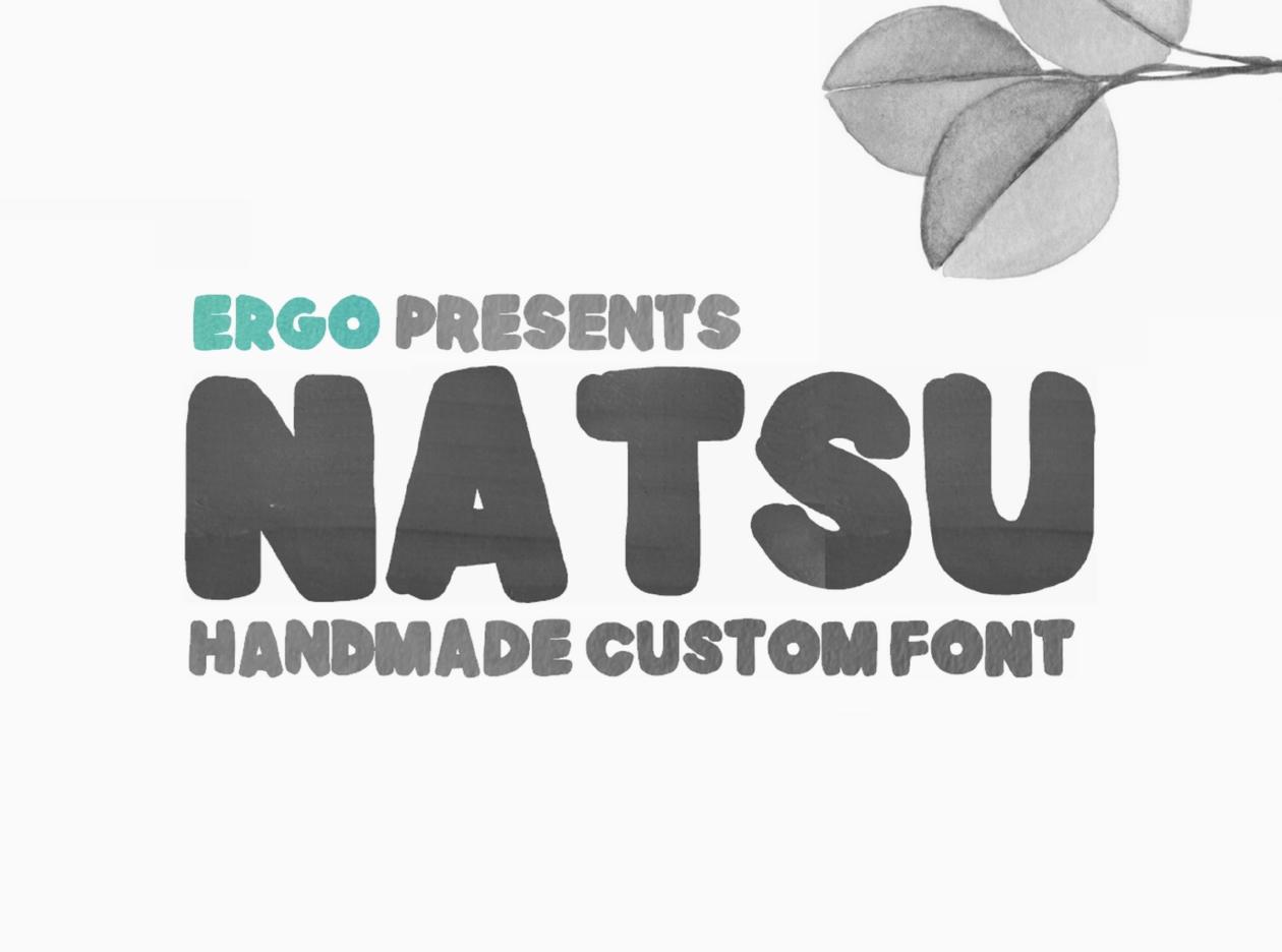 Natsu Free Font