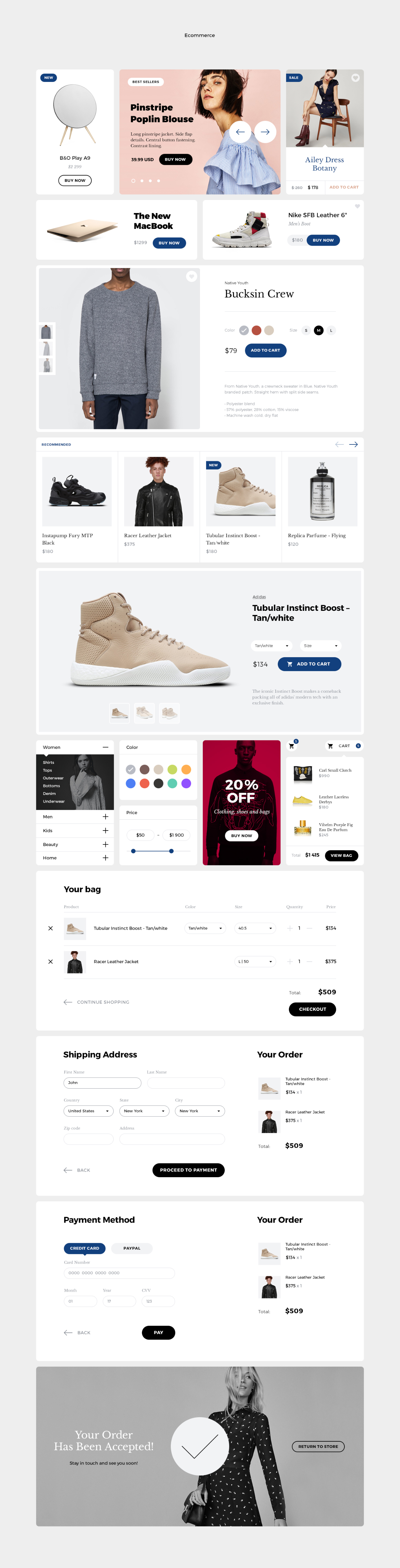 Grace - Ecommerce Ui Kit