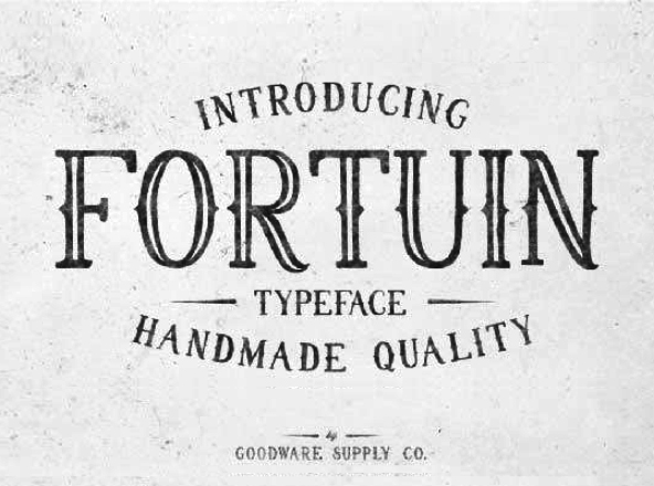 Fortuin Font